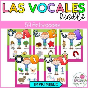 LAS VOCALES BUNDLE/ SPANISH VOWELS BUNDLE