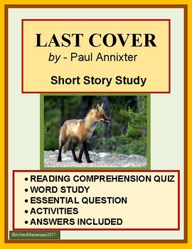 LAST COVER by Paul Annixter - Quiz, Vocabulary and more