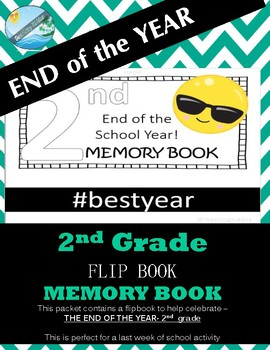 END of the YEAR- flip book emoji them (2nd grade)