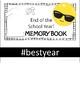 LAST DAY memory book (first grade) - emoji theme