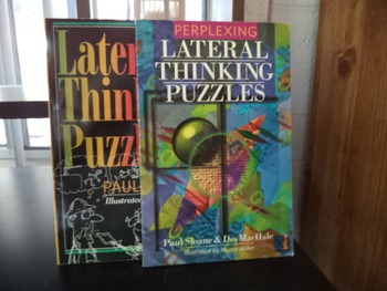LATERAL THINKING  PUZZLES    (Set of 2)