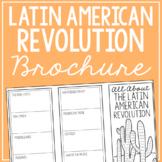 LATIN AMERICAN REVOLUTION Research Brochure Template, Worl