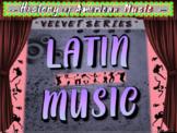 """LATIN MUSIC (LATIN POP) - """"VELVET SERIES"""" Highly Engaging Music Genre Resource"""
