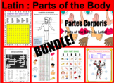 LATIN: Parts of the Body  -- BUNDLE!