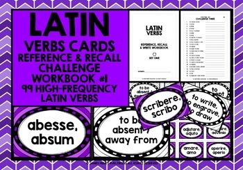 LATIN VERBS RECALL WORKBOOK & GAMES