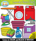 LAUNDRY ROOM Parts of a House Clipart {Zip-A-Dee-Doo-Dah Designs}