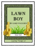 Gary Paulsen LAWN BOY - Novel Study