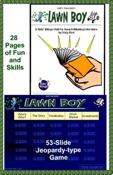LAWN BOY plus LAWN BOY RETURNS by Gary Paulsen!  INSPIRING ENTREPRENEURS!