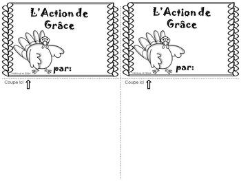 L'Action de Grâce Flip Book