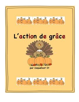 Thanksgiving - L'Action de grâce