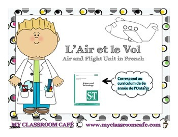 L'Air et le Vol (Air and Flight Unit grade 6 French Immersion)
