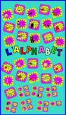 L'Alphabet (Free French Alphabet Cards, 2 sizes)