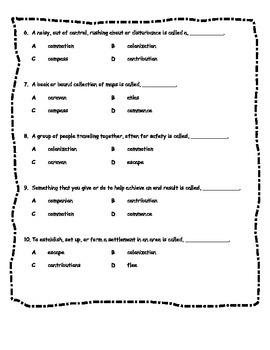 LBD Th.8 Vocab test