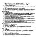 LBJ Notes