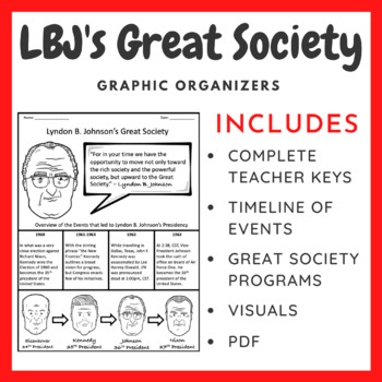 LBJ's Great Society: Graphic Organizer