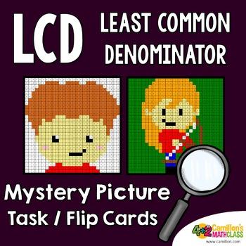 Least Common Denominator (LCD) Task Cards