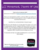 LCI Movement Terms of Use
