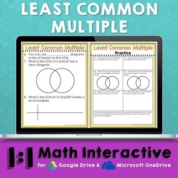 LCM Digital Math Notes