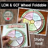 LCM & GCF Wheel Foldable