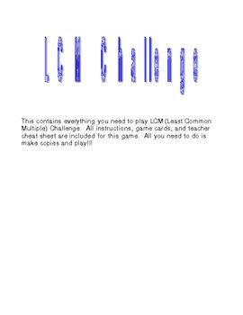 LCM (Least Common Multiple) Challenge