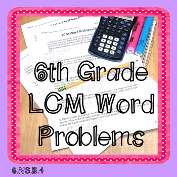 LCM Word Problems