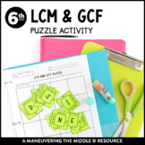 LCM and GCF Puzzle