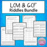 LCM and GCF Riddles