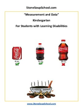 K - Measurement and Data - Students with Learning Disabilities - Common Core