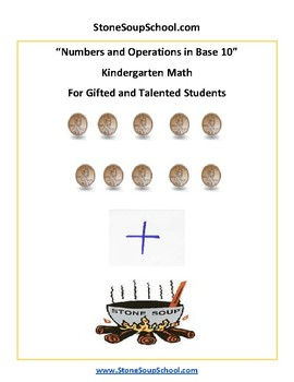 K - Gifted and Talented - Common Core - Numbers and Operations in Base 10