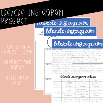 LDE/CDE Instagram Activity