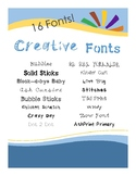 LDL Creative Fonts