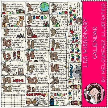LDS Missionary Calendar by Melonheadz