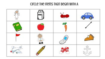 LDS Preschool Curriculum- Letter A