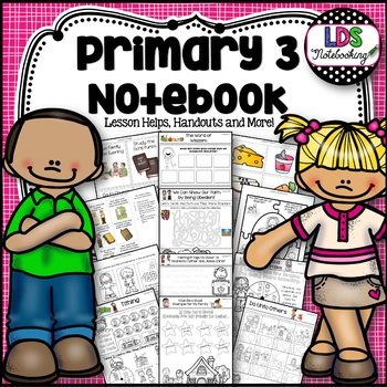 LDS Primary 3 Notebook