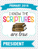 LDS Primary Binder Cover  2016