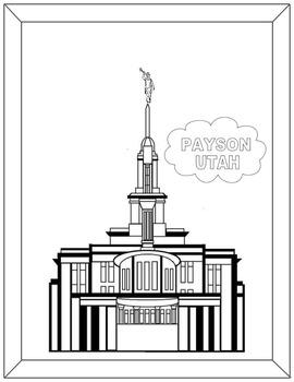 LDS Temple Coloring book Part 1