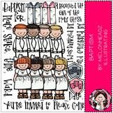 LDS baptism clip  art - COMBO PACK- by Melonheadz