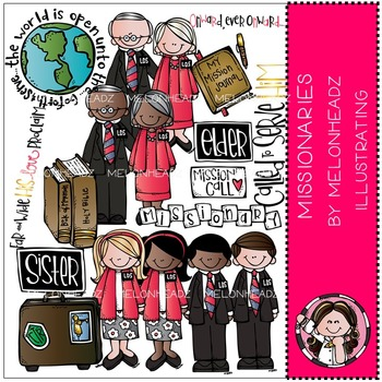 LDS missionaries by Melonheadz COMBO PACK