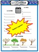 LE CALENDRIER Posters, Graphic Organizers and Vocabulary Practice Activities
