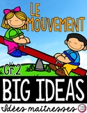 LE MOUVEMENT • Science Big Ideas Grade 2
