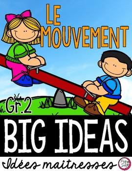 LE MOUVEMENT • Science Big Ideas Grade 2