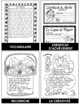 LE PRINTEMPS C'EST PÂQUES Gr. 4-6