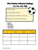 LEAD 21 Grade 2 Word Study, Unit 1 Week 1 Inflected Endings
