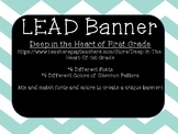 LEAD Banner- Leadership Banner