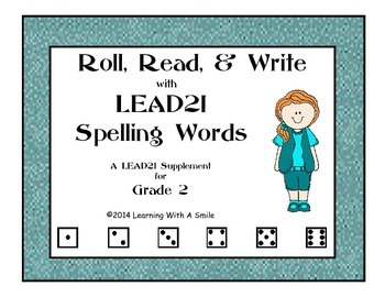 LEAD21 Second Grade Spelling Game: Roll, Read, & Write - Great Literacy Center!