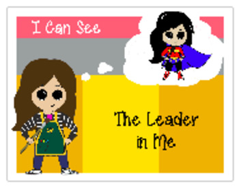 LEADER IN ME POSTERS FOR THE ART ROOM
