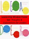 LEADER Mindset Posters