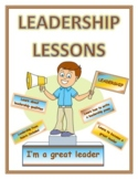 LEADERSHIP LESSON PLANS for DISTANCE LEARNING (EDITABLE)