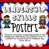 LEADERSHIP SKILLS POSTERS ~ HERO THEME