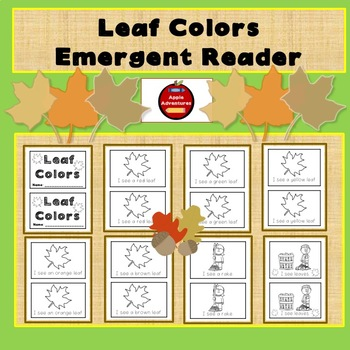 LEAF COLORS - EMERGENT READER